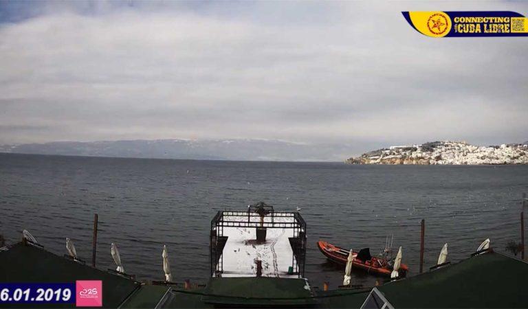 45 секунди од утро до залез Охрид 26.01.2019 (видео)