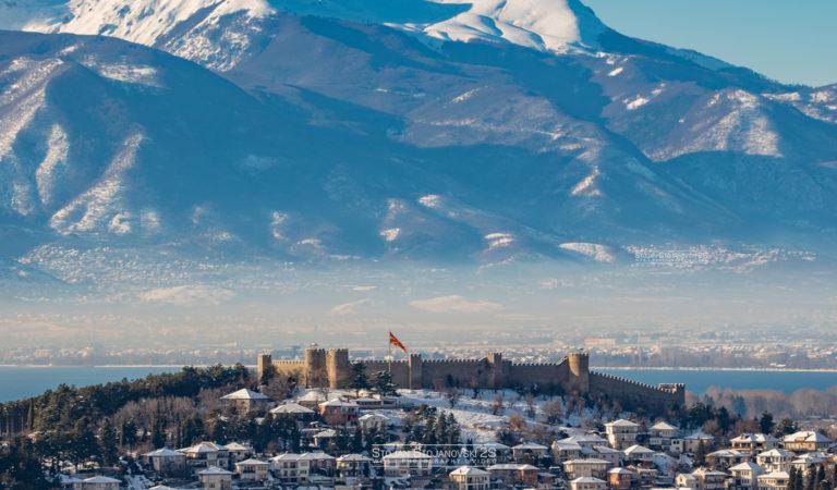 Охрид и Јабланица во една фотографија