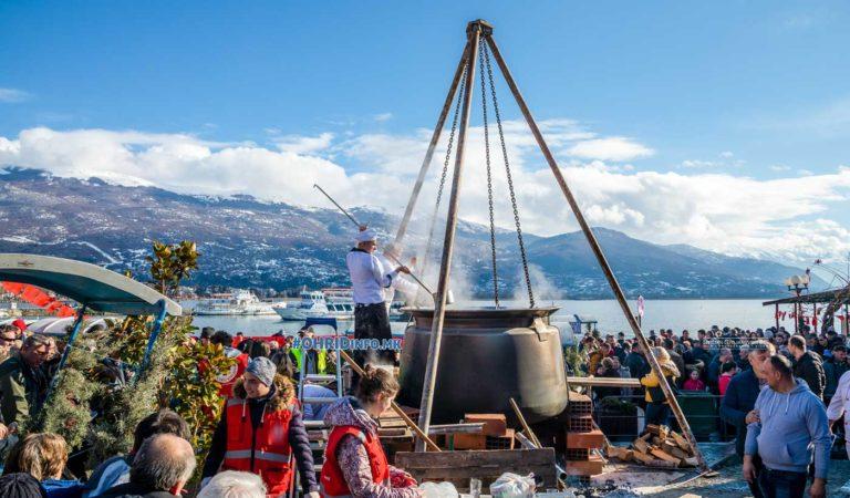 Фото: Сончев Охрид во знак на денот на рибарите
