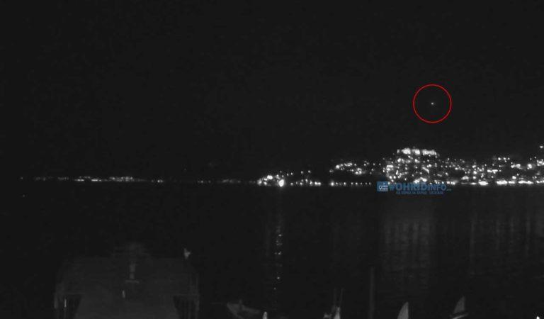 Мистериозен објект на небото над Охрид (фото/видео)