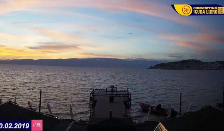 од утро до залез Охрид 10.02.2019 (видео)