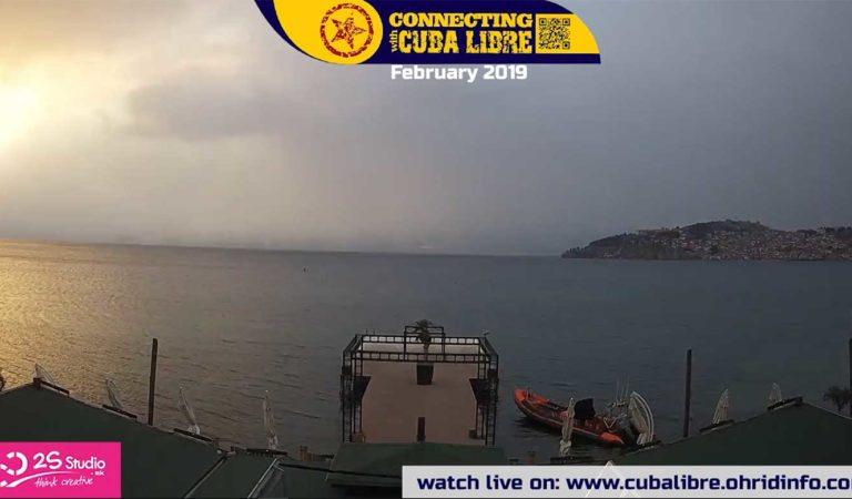 Охрид во 90 секунди забрзано видео од 1 до 28 февруари
