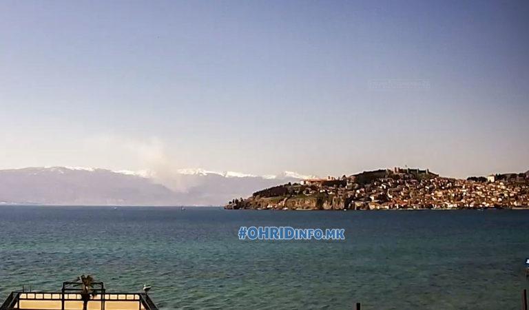 Голем пожар на Јабланица, следете во живо од Охрид