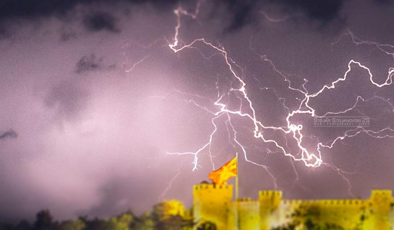 Фото: Пајажина од Громови над Самоилова Тврдина, Фотографија на Стојан Стојановски