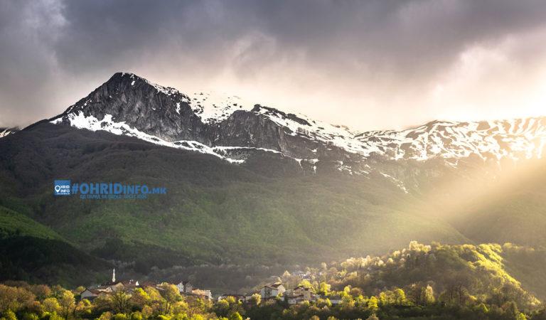 Фото: Рајски поглед од Бигорски манастир
