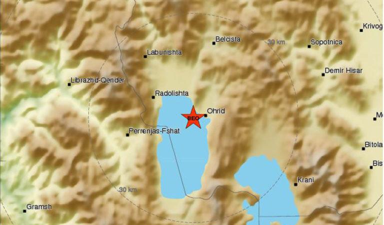 Утрово регистриран земјотрес во Охрид