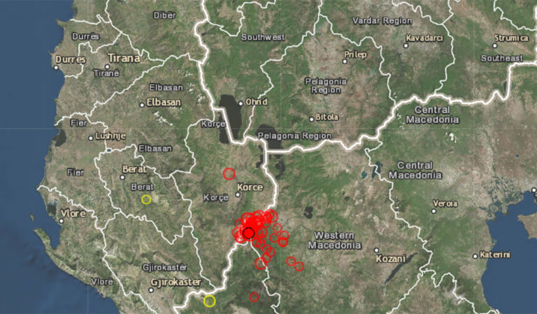 Во Охрид регистрирани низа земјотреси во текот на ноќта