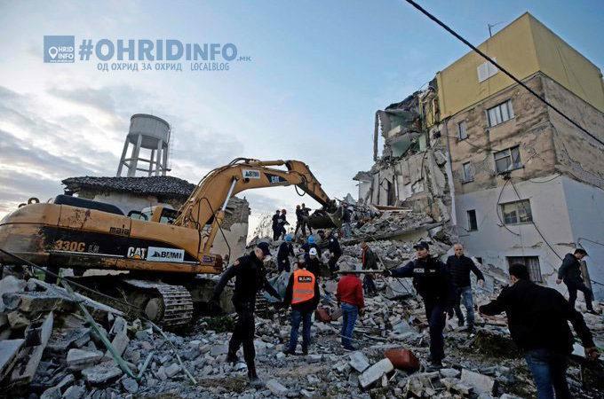 Минимум 15 загинати и над 40 земјотреси во последните 12 часа во Албанија и Балканот