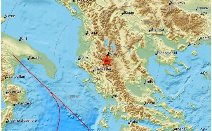 Почувствуван земјотрес во Охрид