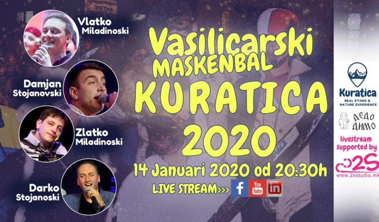 Во Вторник 22-то издание на карневалот под маски во Куратица