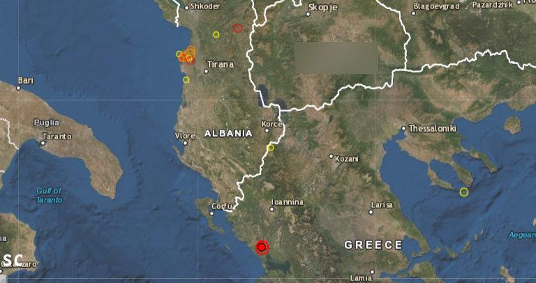 Земјотрес во Грција, почувствуван и во Охрид