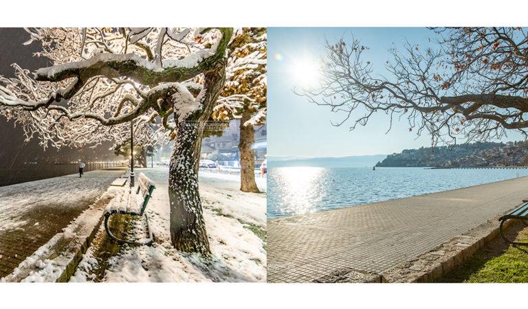 Фото: Охрид на 1 Април или на 2 Април, како ви се допаѓа повеќе?